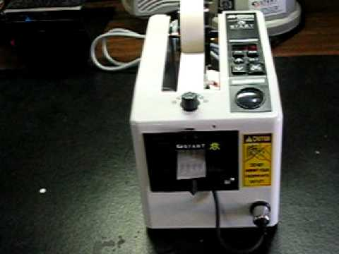 Dispenser Nastri adesivi automatica ZCM1000 - YouTube