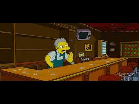 The Simpsons Movie Best Scene David Silverman Moe Szyslak Youtube