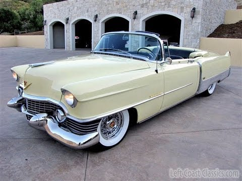 1954 Cadillac Eldorado Convertible for Sale in Sonoma CA - YouTube
