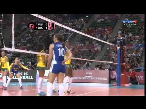 Rússia X Brasil - Fase Final - World Grand Prix 2014