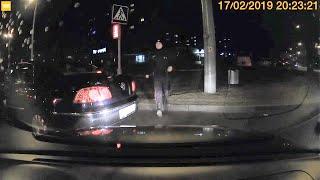 АвтоГродно: Милиция разнимала водителей в Гродно - ругались из-за светофора