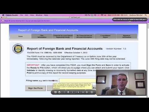 FBAR - FinCEN Form 114
