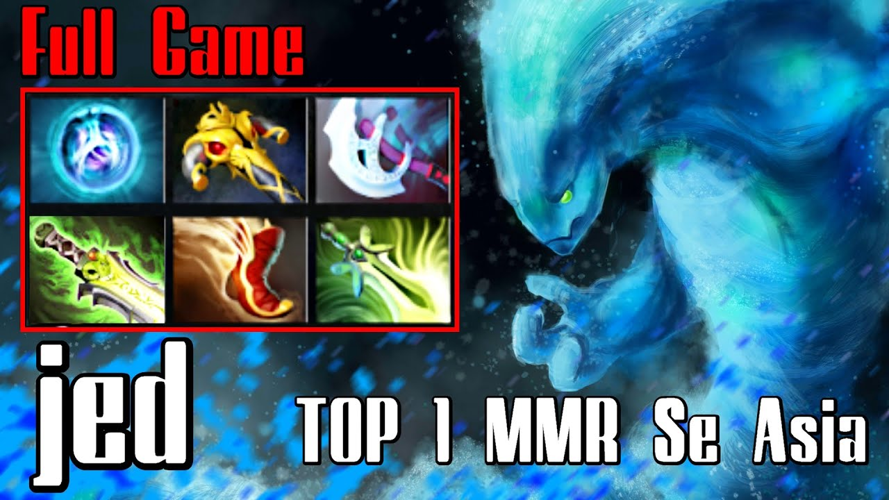 jed morphling top 1 mmr se asia dota 2 full game ranked 7700
