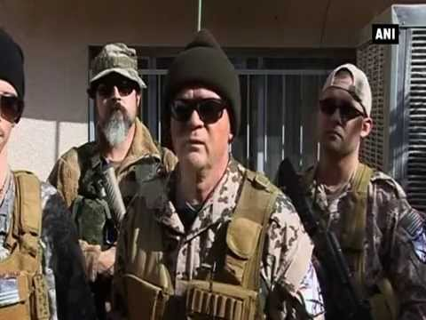 Westerners join Iraqi Christian militia to fight Islamic State in Iraq