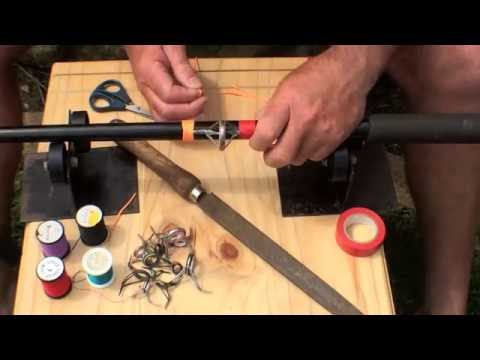 How To: Repair Your Guide/Runner On Your Fishing Rod | The Hook and The Cook