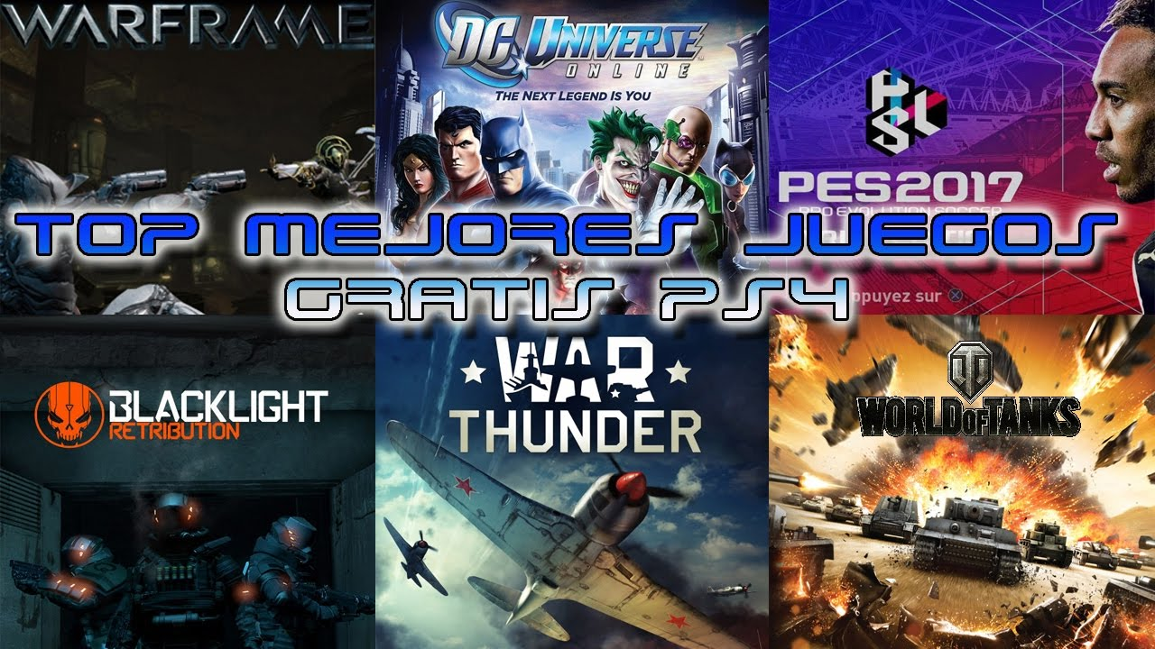 Top Mejores Juegos Gratis Ps4 Free To Play Youtube