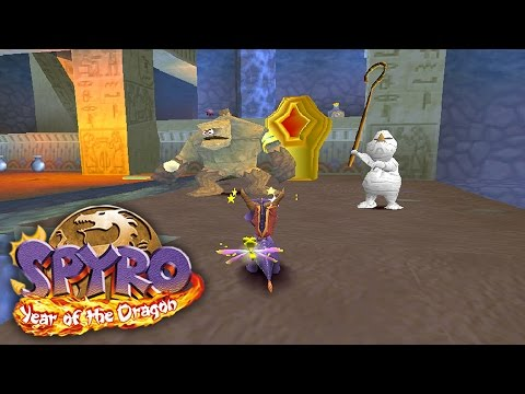 Let's Play Spyro 3: Year of the Dragon: Part 41 - Haunted Tomb