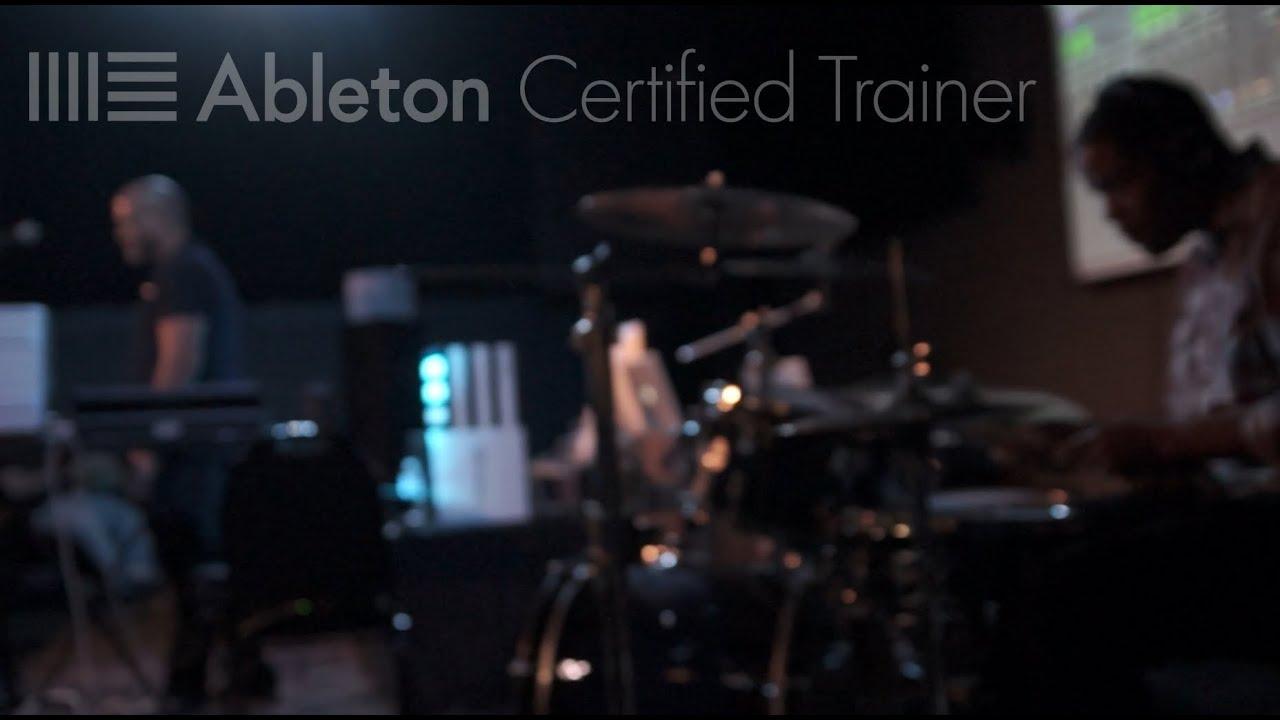 "Download Ableton University Tour 2015 Antonio Sage & Justin Boyd (Beatpusha) perform ""Disease"" USF"