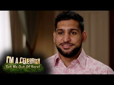 Amir Khan Reveal Interview!   I'm A Celebrity...Get Me Out Of Here!