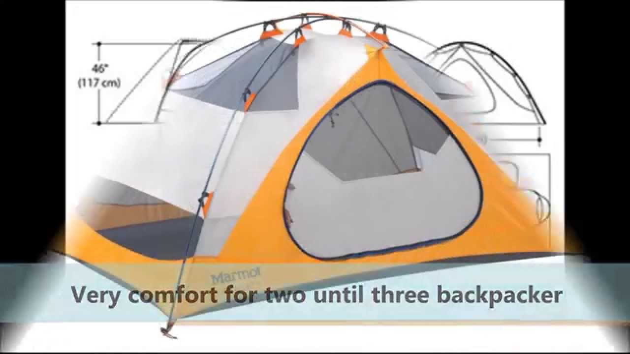 The Best Backpacking Tent Marmot limelight 2 Persons  sc 1 st  YouTube & The Best Backpacking Tent Marmot limelight 2 Persons - YouTube