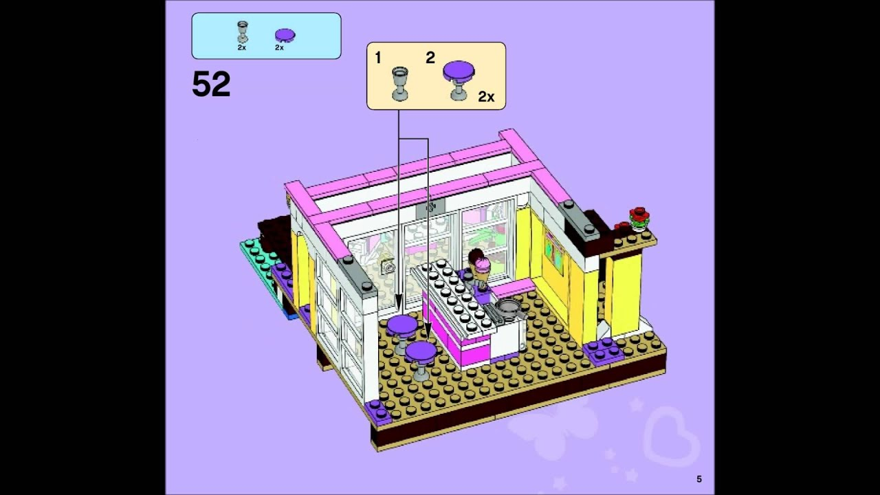 how to build a lego house instructions