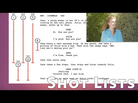 How to Make a Lined Script and Save Your Shot List