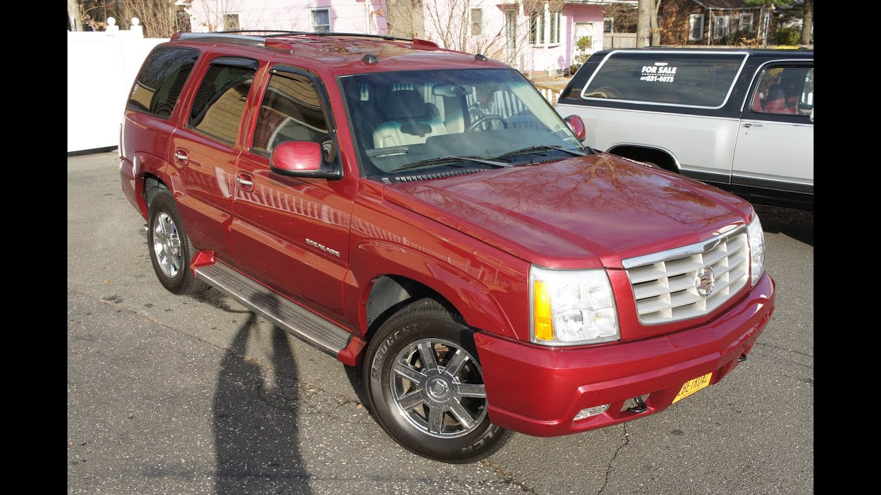 for ext escalade used sale cadillac awd truck