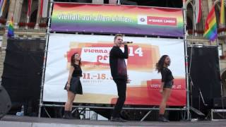Al Axy - Sweet Obsession (Live at Vienna Pride 2014)
