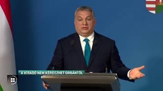 Az RTL Híradó nem kérdezhet Orbántól 19-12-22