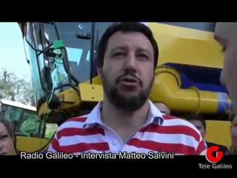 """Matteo Salvini a Radio Galileo: """"La Lega a Terni, la giunta Di Girolamo e la Ternana di Pochesci"""""""