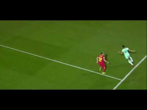 belgium vs portugal women soccer  jessica amazing skill voetbal -women world cup 2018 qualifier