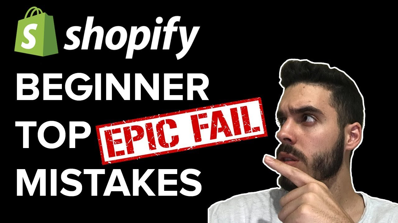Why Beginner Shopify Dropshippers FAIL (Top 3 Mistakes)