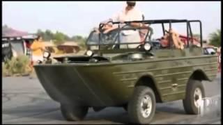 ГАЗ 46 Амфибия. AMFIBIA GAZ 46. Редкое видео. Off-Roading