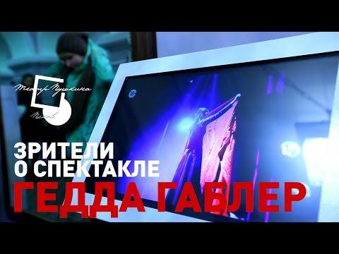 "Зрители о спектакле ""Гедда Габлер"""