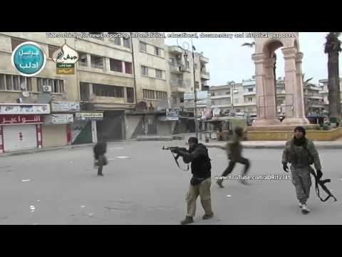 SAA IRANIANS AND HEZBOLLAH VS SYRIAN REBELS IDLIB OFFENSIVE 2015