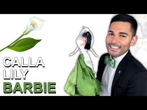 CALLA LILY Barbie Doll - Barbie Collector - Review