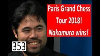 Nakamura wins 2018 Paris Grand Chess Tour!