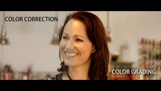 Color correction vs. grading | 30 Second Film School