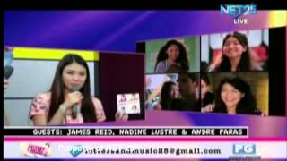 Video DIARY NG PANGET CASTS NET25 LETTERS AND MUSIC Guesting (Part 2) download MP3, 3GP, MP4, WEBM, AVI, FLV November 2017