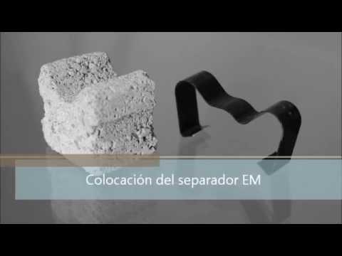 Colocación Separador de hormigón EMAE // Installation Concrete Spacers  EMAE