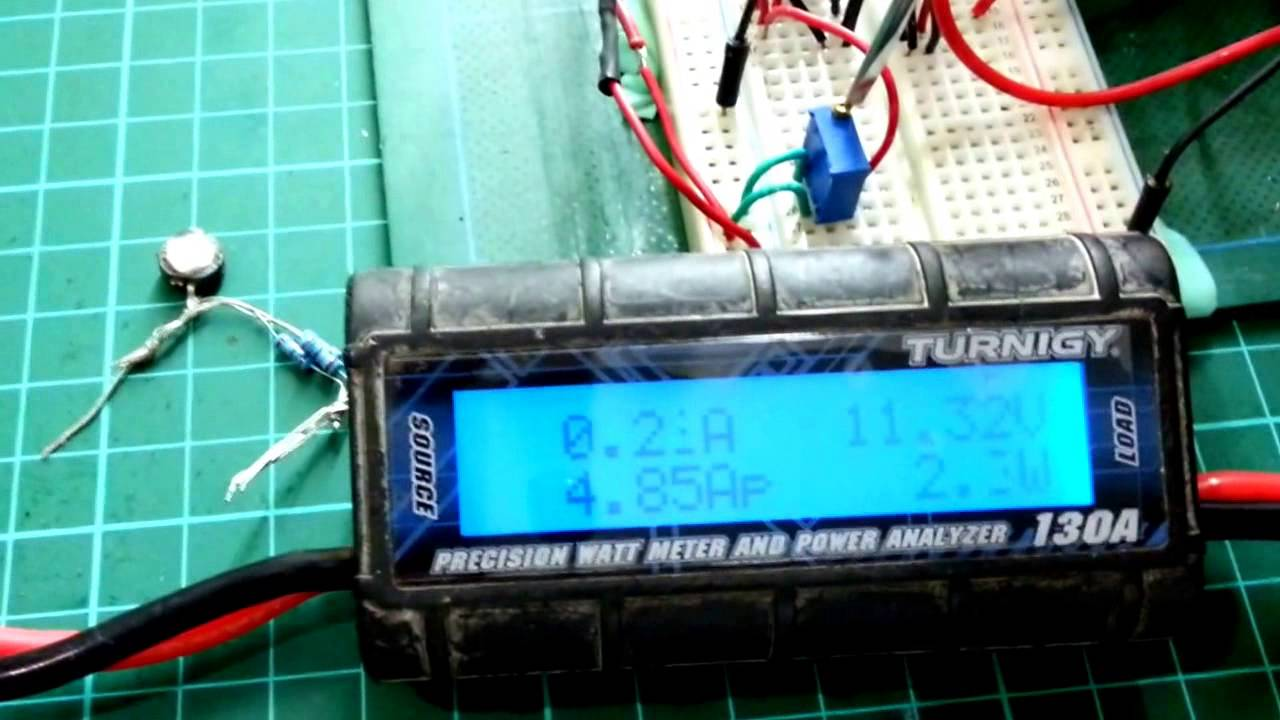 DIY Constant Current Electronic Load - YouTube