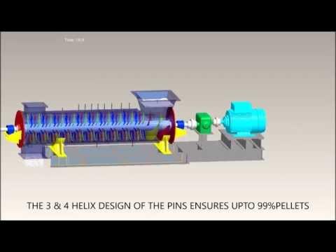 Finex Process Equipment Pin Mixer/ Pelletizer