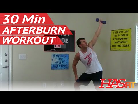 30 Min Afterburn Workout - After Burn Training - Afterburn Effect Exercises - Exercise Workouts