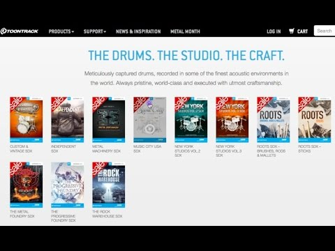 Superior Drummer 2.4 Expansions (SDX): Why you shouldn't buy with your eyes