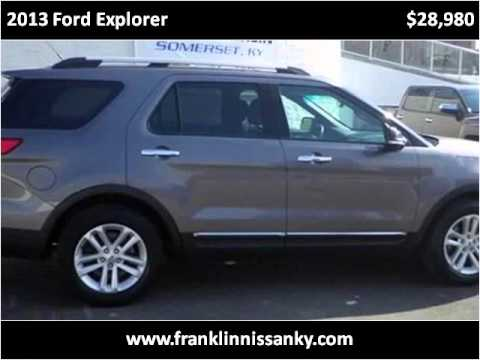 2013 ford explorer used cars columbia ky youtube. Black Bedroom Furniture Sets. Home Design Ideas