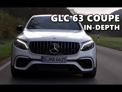 Mercedes-AMG GLC 63 Coupe 4MATIC+ (2018) Design, Sound, Performance