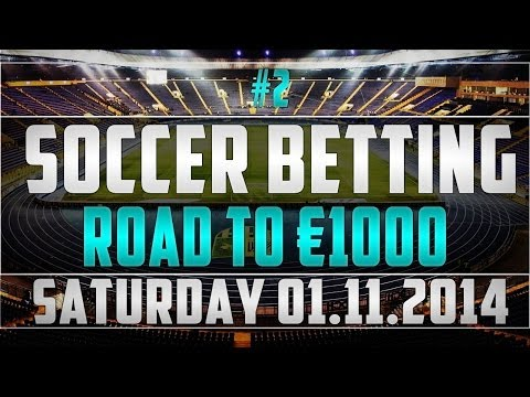 [01/11] FOOTBALL BETTING TIPS - Day 2: Road to 1K from YouTube · Duration:  2 minutes 36 seconds
