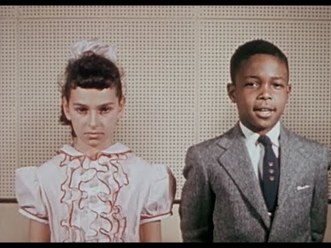 "1954 Film on NYC School Integration: ""Let Us Break Bread Together"""