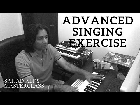 HOW TO SING - Advanced Vocal Training | Sajjad Ali's Master Class Online