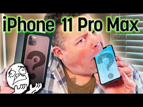 Unboxing Greg''s Apple IPhone 11 Pro Max because I''m too cheap to buy one