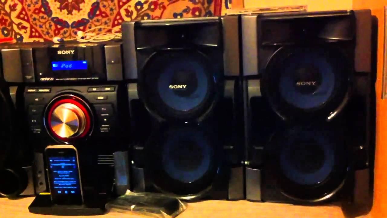 Sony MHC-E99i / MHC-E79i / MHC-E69i Hi-Fi Music System