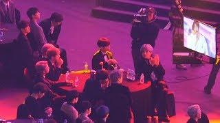 방탄소년단(BTS) Reaction [Stray Kids(스트레이키즈)  I am YOU + YaYaYa + My pace ]@190115 서울 가요대상 [ 4k Fancam/직캠