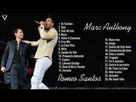 Marc Anthony y Romeo Santos - MIX (EXITOS) | 2016