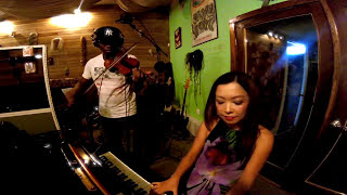On the Sunny Side of the Street - Violin and Piano duo, Keiko Komaki & Donald Surtain Jr