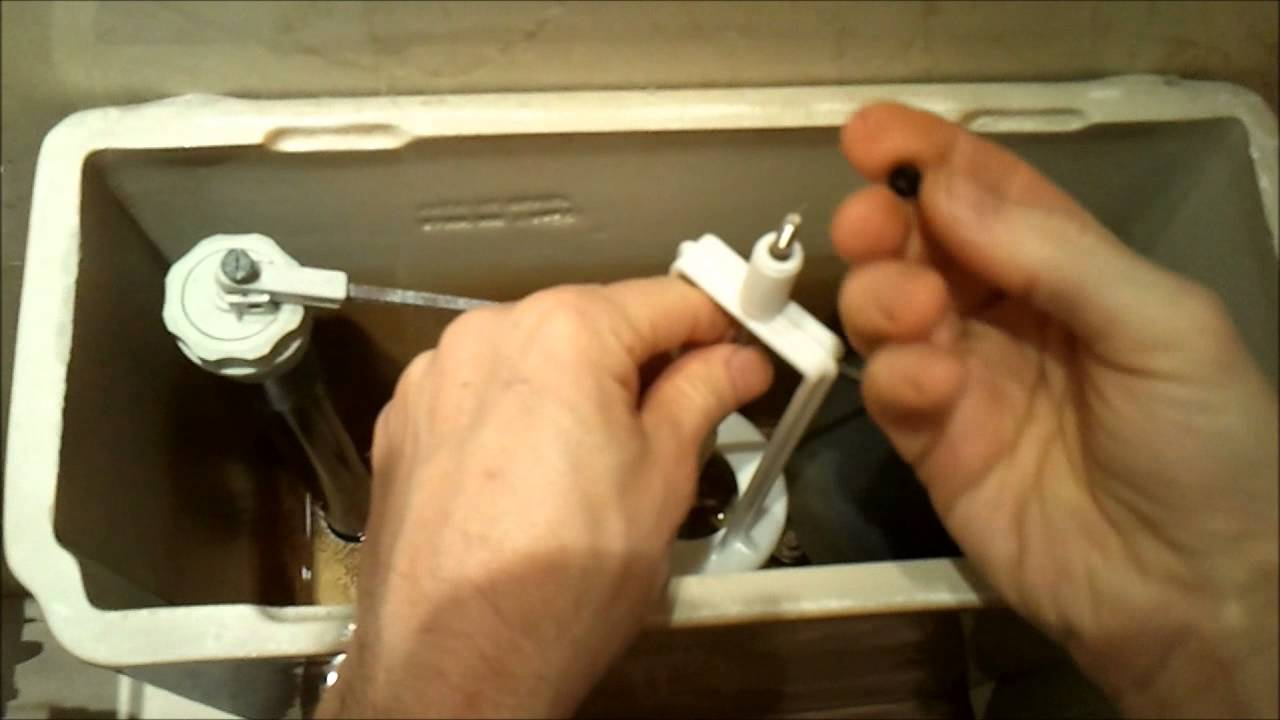 Como Arreglar Descargador De Una Cisterna Modelo Dama De Roca Youtube