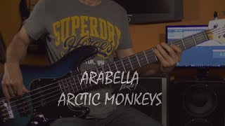 Arctic Monkeys - Arabella - bass cover + Notes
