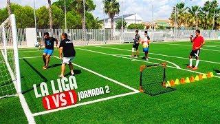 LIGA 1VS1 | JORNADA 2 | ¡RETO FÚTBOL! [Crazy Crew]