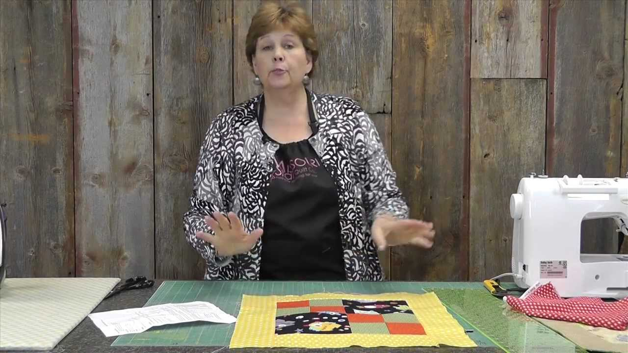 Quilts For Kids A Baby Quilt From The Heart Youtube