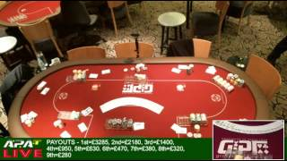 Scottish Amateur Poker Championship - Final Table