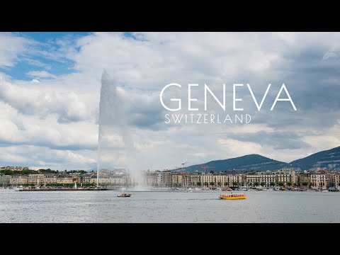 Geneva Switzerland. Timelapse&Hyperlapse